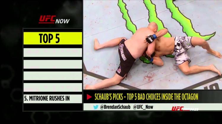 5 największych pomyłek w UFC