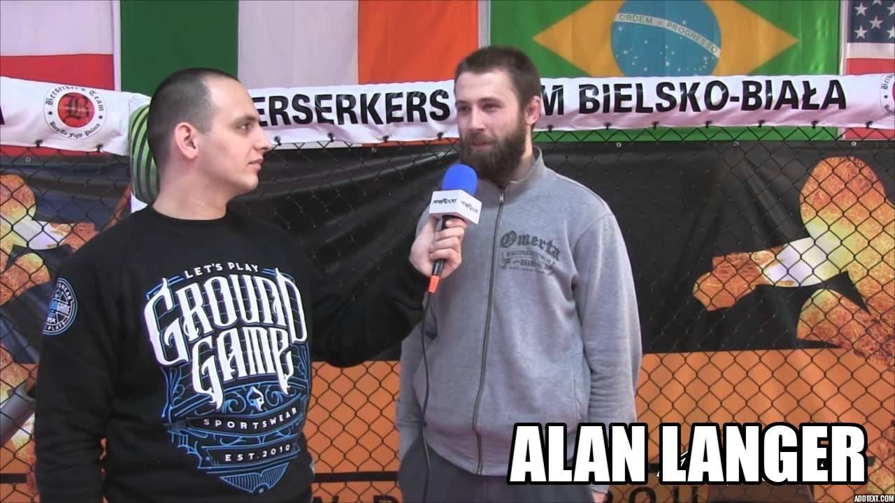 """""""Chciałbym stoczyć 4 walki w tym roku"""" – Alan Langer"""