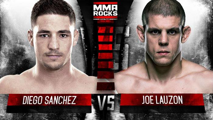 Lauzon vs Sanchez UFC 200