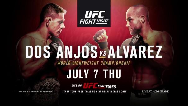 Nietypowa zapowiedź walki Rafaela Dosa Anjosa z Eddie Alvarezem