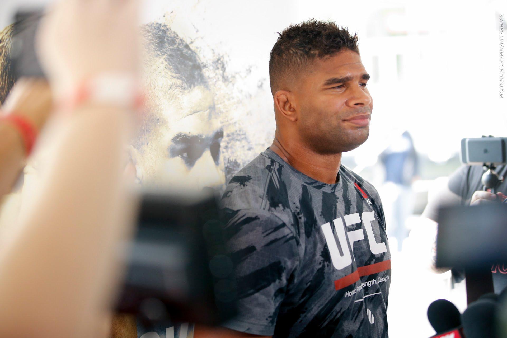 Medialne treningi oraz wywiady przed UFC 203 [WIDEO]