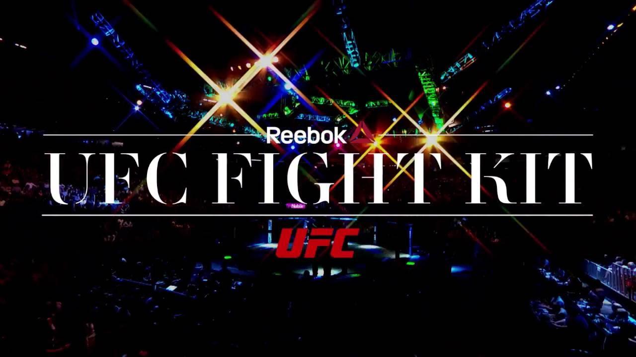 Reebok prezentuje nowe stroje zawodników UFC