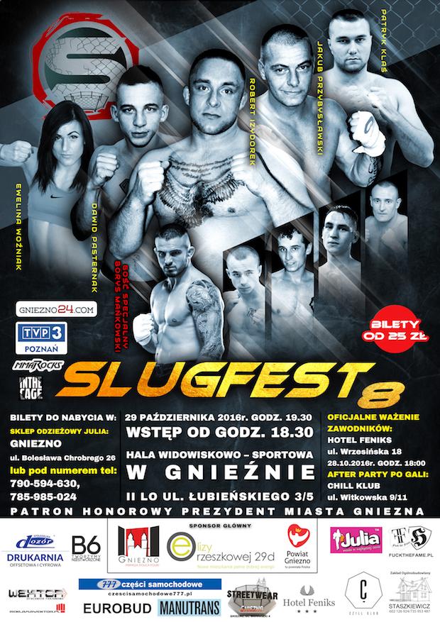 Plakat Slugfest 8