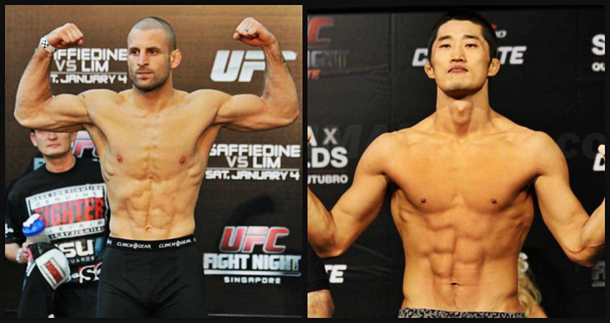 Resultado de imagen para Dong Hyun Kim vs Tarec Saffiedine