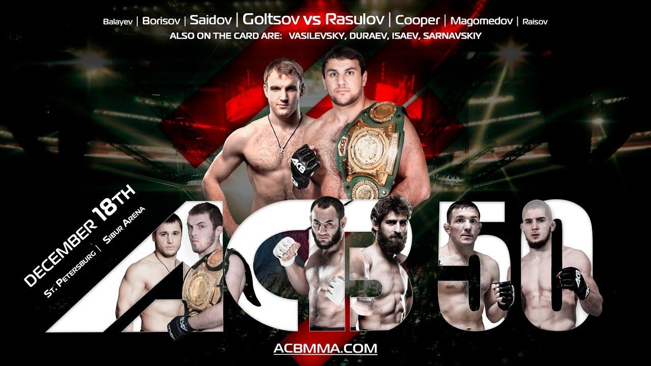 Aslambek Saidov w zapowiedzi gali ACB 50