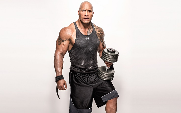 The rock 2012 workout