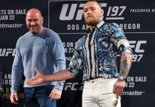 Conor MCGregor ufc dana white