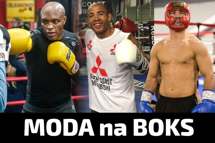 Moda na boks u zawodników MMA