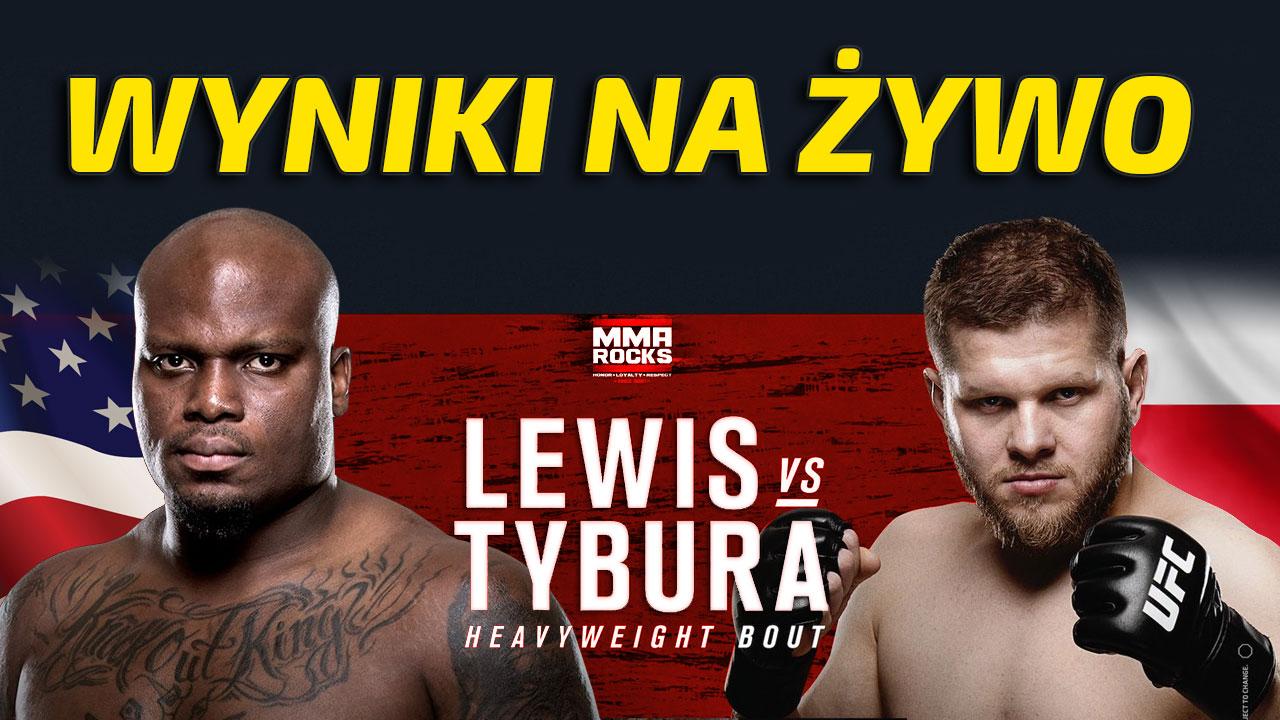 Tybura vs Lewis wyniki