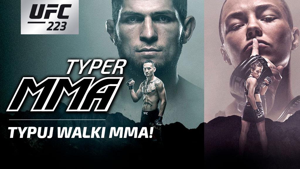 Typowanie walk MMA