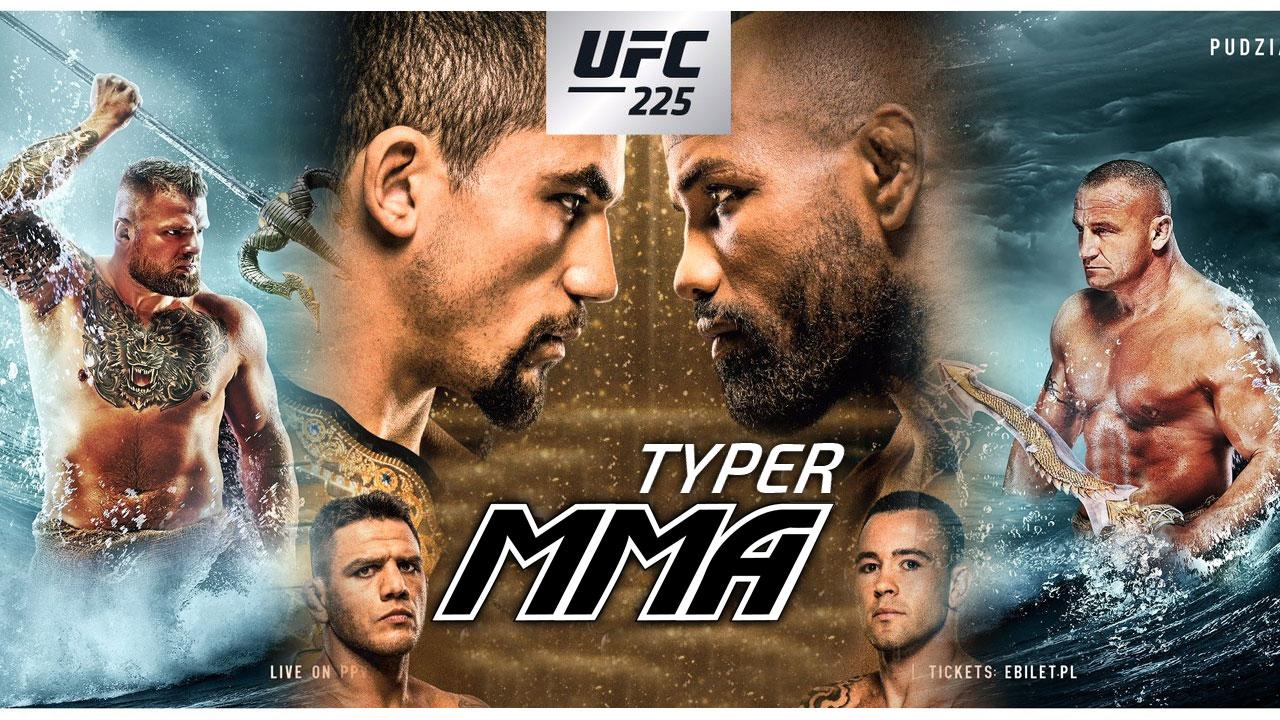 Typer MMA KSW 44 i UFC 225