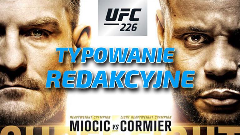 Typowanie UFC 226