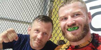 Robert Jocz i Jan Błachowicz Jon Jones pas UFC
