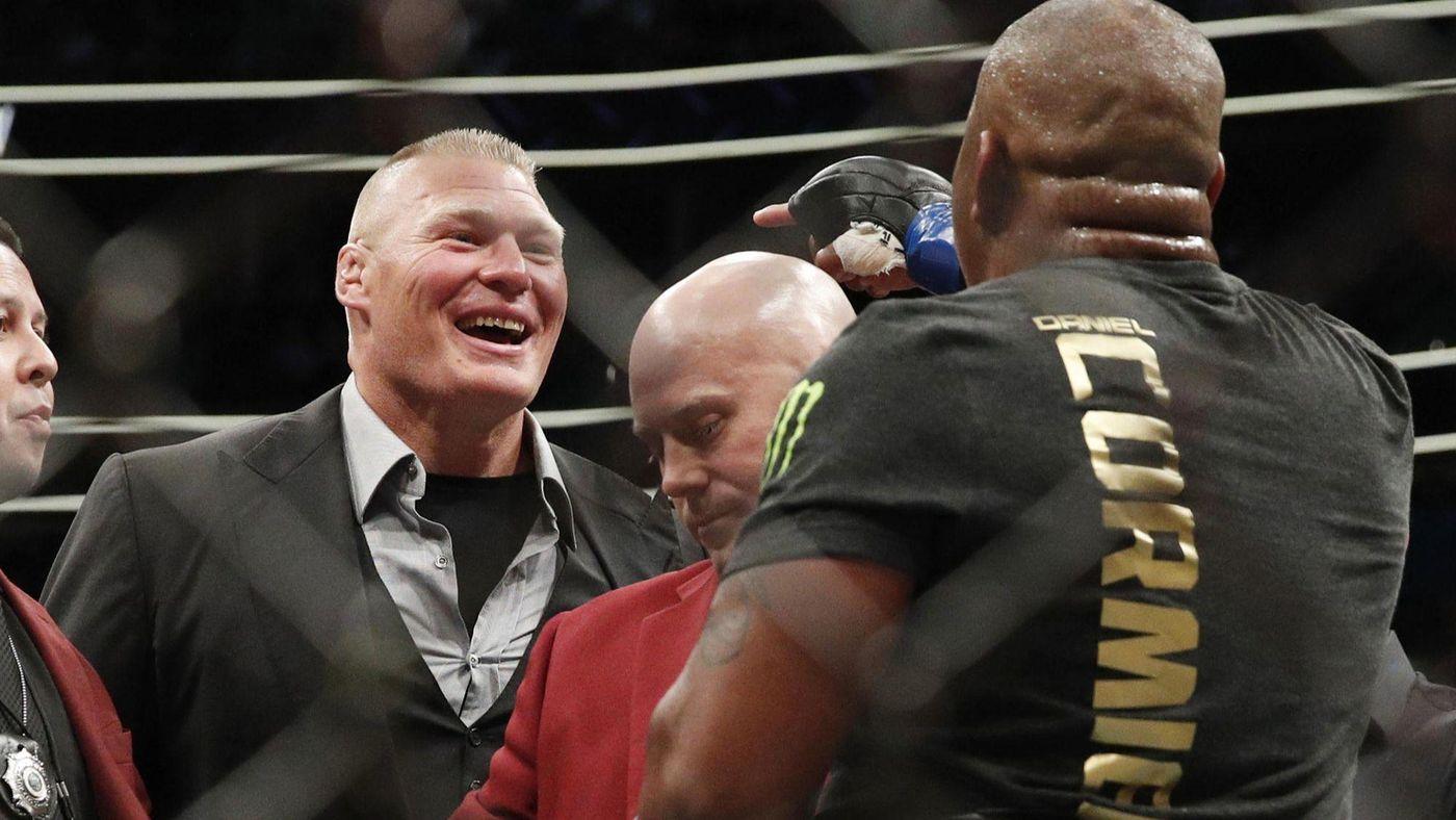Cormier: Ja wychodzę skopać ci tyłek, Lesnar podjął mądrą decyzję o odejściu
