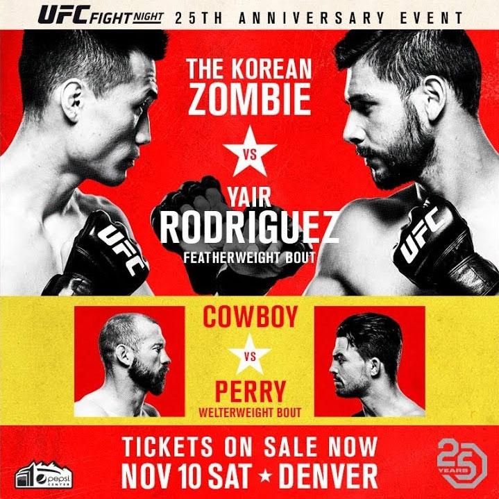 UFC Fight Night: Korean Zombie vs. Rodriguez