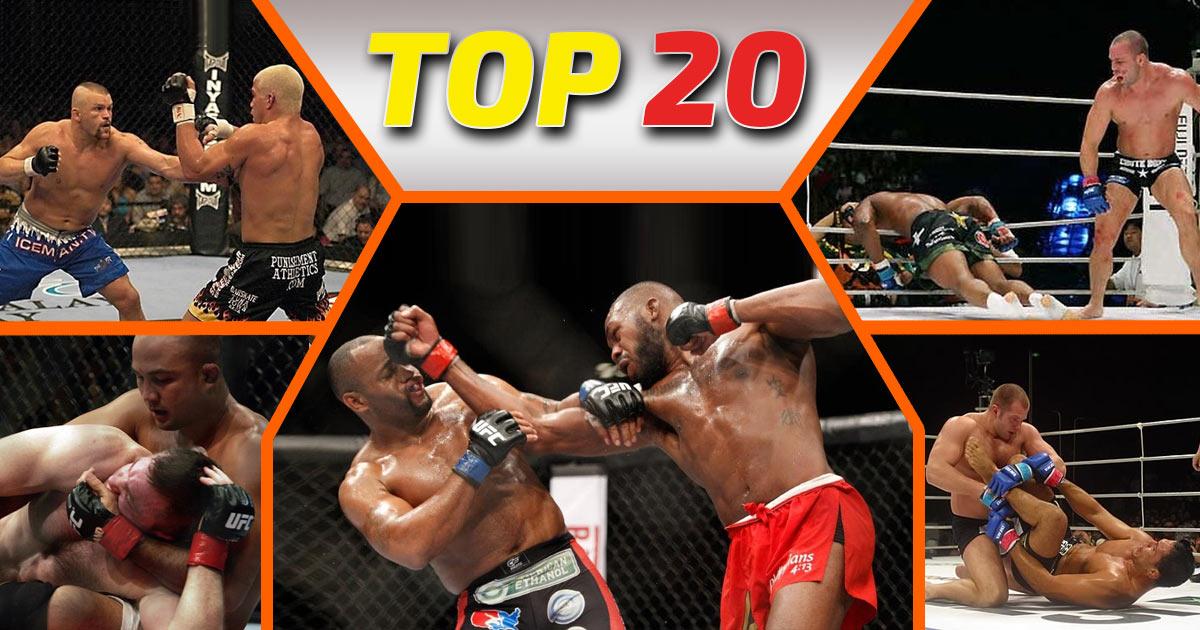 Największe rywalizacje MMA
