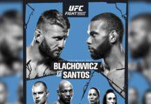 plakat UFC w Pradze