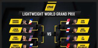 turniej wagi lekkiej ONE Championship