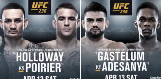 Max Holloway vs Dustin Poirier 2