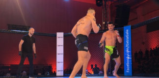Kuba Kamieniarz na Poznan Fight Night