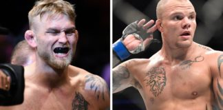 Alexander Gustafsson vs Anthony Smith UFC w Sztokholmie