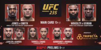 UFC 235 wyniki