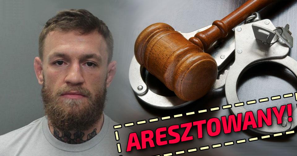 Conor McGregor aresztowany