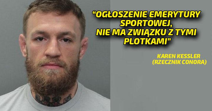 Conor McGregor oskarżony