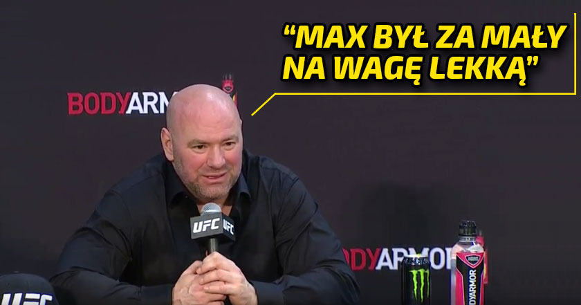 Dana White o UFC 236
