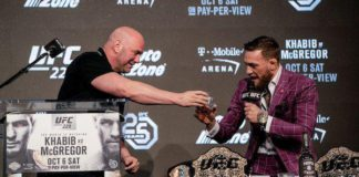 Dana White i Conor McGregor