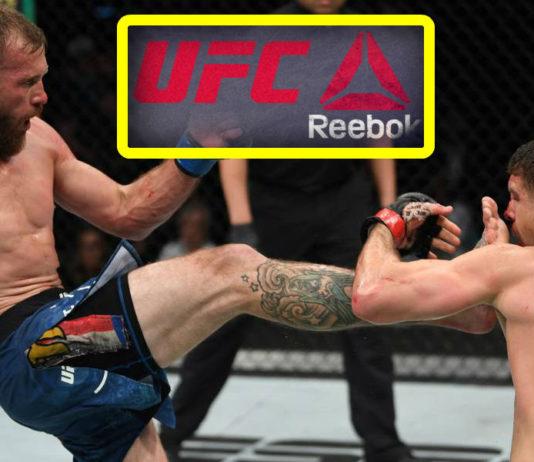 Wypłaty z tytułu umowy sponsorskiej po gali UFC on ESPN+ 9