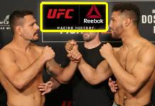 Wypłaty z tytułu umowy sponsorskiej Reeboka po UFC on ESPN+ 10