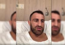 WIDEO: Alexander Volkanovski pokazuje zainfekowaną stopę