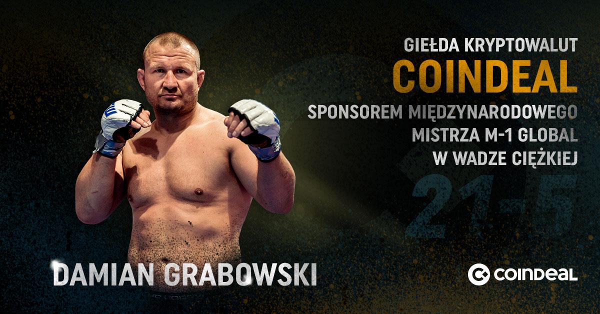 CoinDeal sponsoruje Grabowskiego