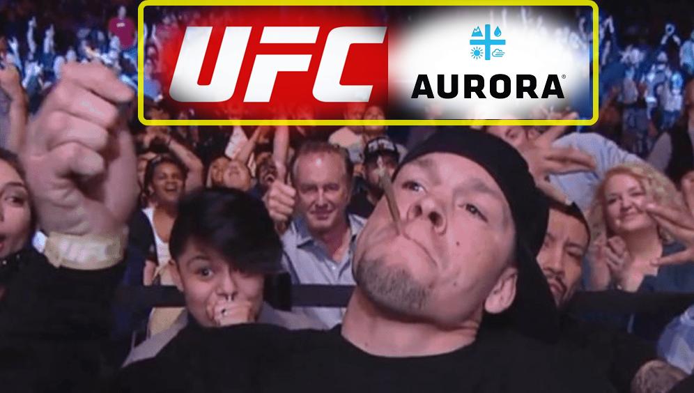 UFC i Aurora Cannabis rozpoczynają współpracę za grube pieniądze