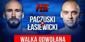 Zestawienie Paczuski vs Łasiewicki wypada z FEN 25