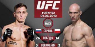 Bartosz Fabiński vs Sergey Khandozhko na gali UFC w Sztokholmie