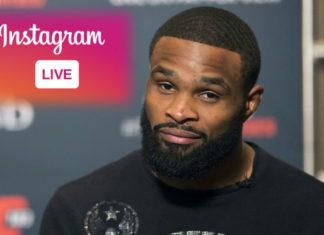 Tyron Woodley zabiera głos po wypadnięciu z UFC on ESPN 3