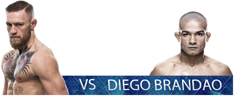 Conor McGregor vs Diego Brandao