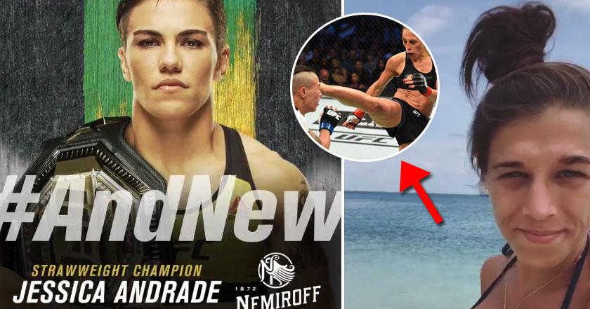 Jędrzejczyk gratuluje Andrade