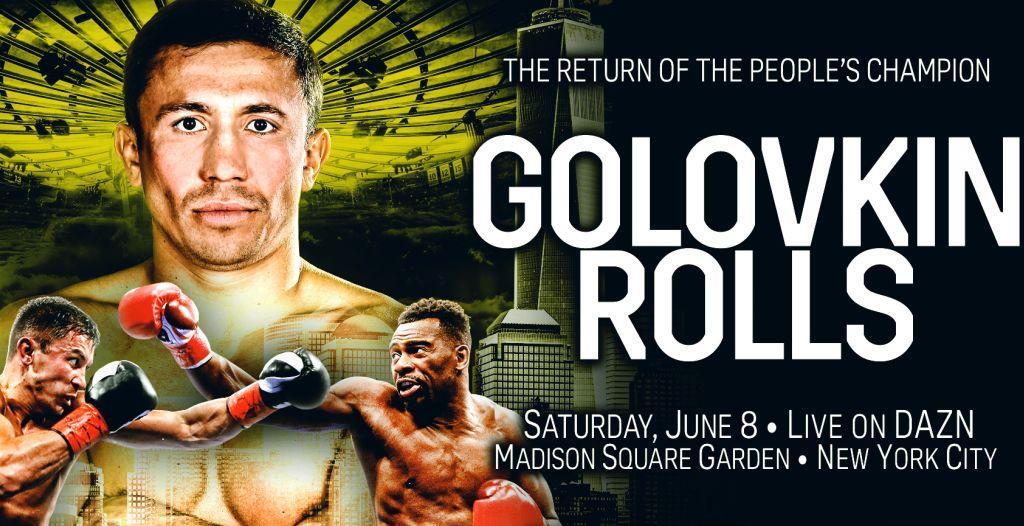 Gennady Golovkin vs. Steve Rolls już jutro! Pełna rozpiska oraz informacje.
