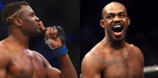 Francis Ngannou i Jon Jones