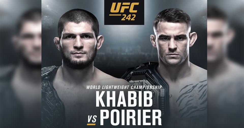 OFICJALNIE: Khabib Nurmagomedov vs Dustin Poirier na UFC 242!