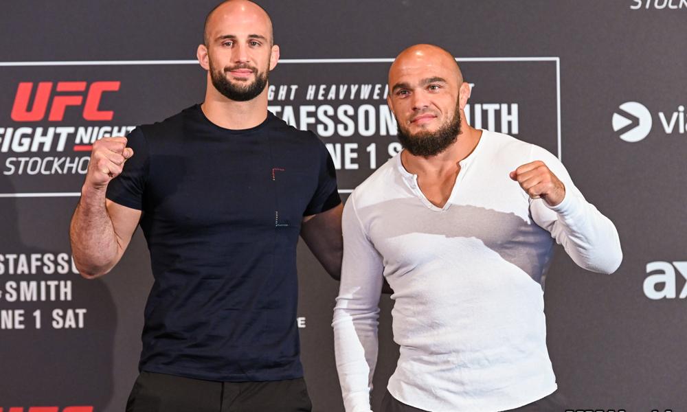 Volkan Oezdemir i Ilir Latifi UFC