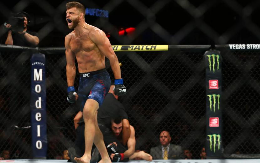 Ricardo Lamas doznał trzech złamań szczęki na UFC 238