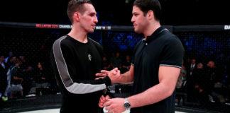Już w piątek Neiman Gracie (9-0-0) stanie przed szansą zdobycia pasa wagi półśredniej Bellator MMA i przejścia do finału grand-prix. Jego przeciwnikiem będzie Rory MacDonald (20-5-1), który w swojej ostatniej walce zremisował z Jonem Fitchem (32-7-2). Warto przypomnieć, że zwycięzca turnieju zarobi milion dolarów. Brazylijczyk rozmawiał dzisiaj z portalem MMAJunkie, poniżej znajduje się cały wywiad z Christianem Steinem. Jak twój obóz przygotowawczy? Trenuję w Renzo Gracie Academy w Nowym Jorku. Pracuję nad Muay Thai oraz zapasami. Cały obóz przebiega wspaniale. Nie ukrywam, naszym planem jest sprowadzenie Rory'ego na matę i poddanie go. Każdy zna mój plan na walkę, dlatego muszę być w świetnej formie, żeby nie przepuścić żadnej okazji. Zawalczysz o pas wagi półśredniej. Jesteś niepokonany i poddałeś ośmiu rywali z dziewięciu. Co możesz powiedzieć na tym etapie o swojej karierze? Jestem bardzo szczęśliwy z tego, jak przebiega moja kariera. Naprawdę jestem zadowolony z tego, co osiągnąłem. To wszystko zawdzięczam ciężkiej pracy i pokazałem to wszystko w swojej ostatniej walce. Jestem przygotowany na Rory'ego. Wierzę, że moim przeznaczeniem jest bycie mistrzem. Zrobię wszystko, aby stało się to rzeczywistością. Wszystko przebiega zgodnie z planem, nie mogę doczekać się walki. Co możesz powiedzieć o MacDonaldzie? To jeden z najlepszych gości w naszej dywizji. Gość jest może w najlepszej piątce lub trójce na świecie. Oczekuję bardzo ciężkiej walki, jednak wierzę, że wygram przez poddanie. Jeżeli wygrasz, to zmierzysz się z Douglasem Limą o milion dolarów. Czy to powoduje dodatkową presję? Od zawsze zmagam się z presją w swojej karierze. Staram się nie myśleć aż tak daleko, skupiam się na teraźniejszości. Mam ciężkiego rywala i spróbuję go pokonać. Po tym fakcie pomyślę o finale i głównej nagrodzie. Naprawdę ciężko trenuję, aby tam się dostać.