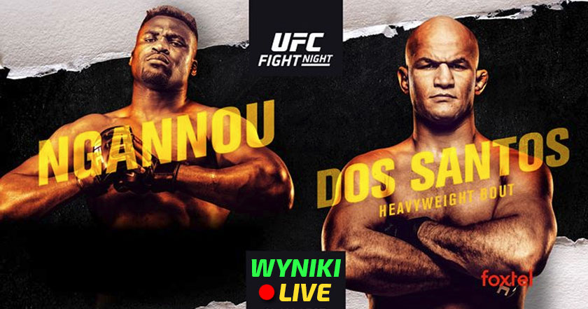 UFC on ESPN 3: Ngannou vs Junior dos Santos
