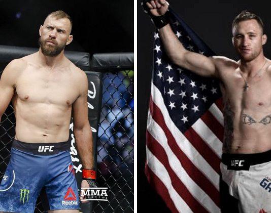 Donald Cerrone vs Justin Gaethje UFC