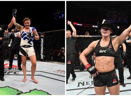 Joanne Calderwood vs. Andrea Lee planowane na UFC 242 w Abu Zabi