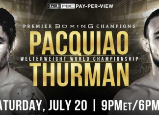 Manny Pacquiao vs. Keith Thurman: informacje, transmisja i rozpiska